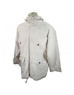 Jacket, white camouflaged, British Made