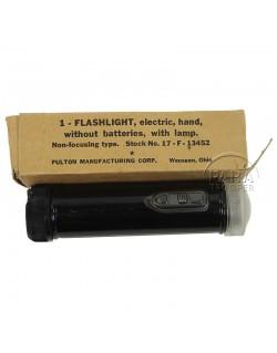 Flashlight, USN, The Fulton Manufacturing Corp.