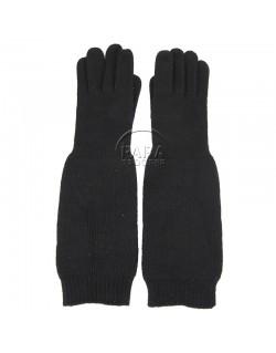 Gloves, wool, blue, USN