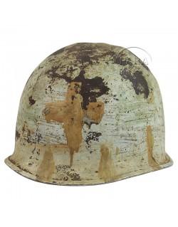 Helmet, M1, Shell, Medic, 2-cross