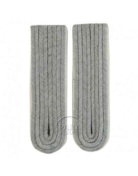 Shoulder boards, Junior Inf. Officer (White Piped)