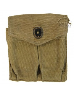 Pouch, Magazine, USM1 carbine, British Made, A.C. 1944