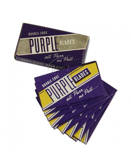 Lames de rasoir Purple blades