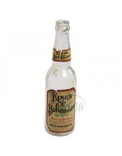 Bouteille de bière King's Bohemian