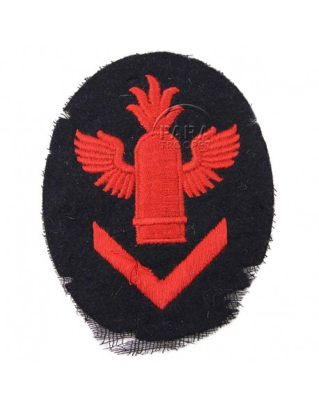 Patch, Sleeve, Anti-Aircraft gun chief's, Kriegsmarine