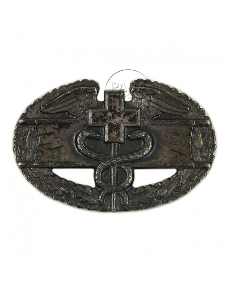 Badge, Combat, Medic, US