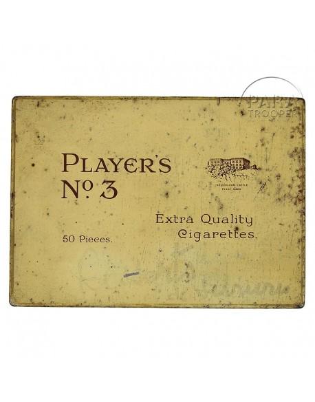 Boite de cigarettes Player's N°3
