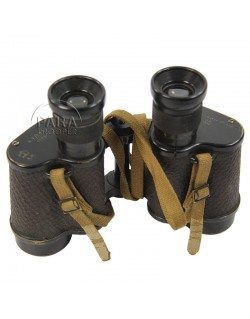 Binoculars, RAF, and carrying case MK 1