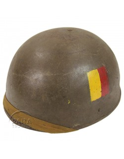 Helmet, Tank Battalion, 1943, Named