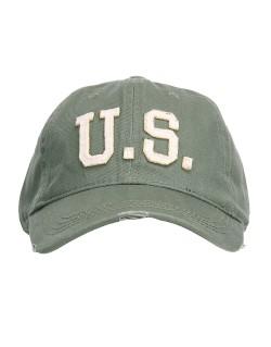 Cap, Baseball, vintage, US, khaki
