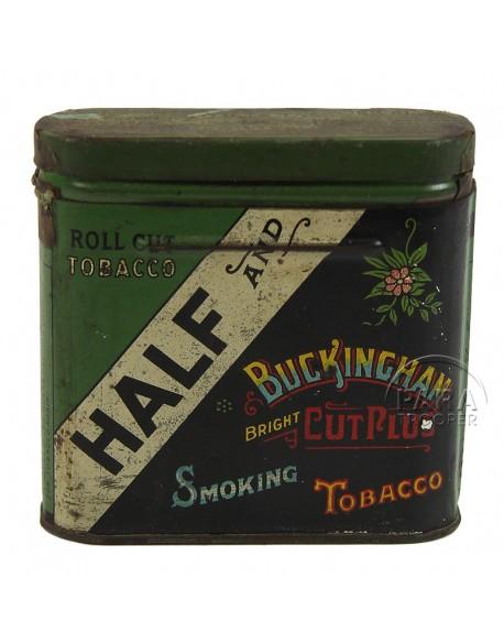 Boite de tabac américain Half and Half, 1933