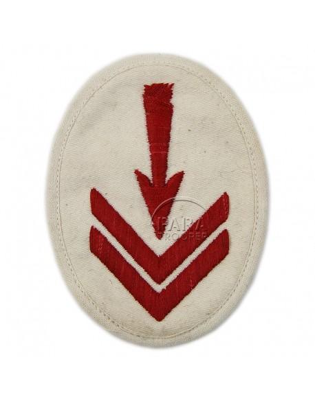Patch, Sleeve, Hydrophone EM's, Kriegsmarine