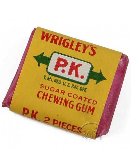 Chewing-gum, Wrigley's