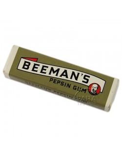 Paquet de chewing-gum, Beeman's