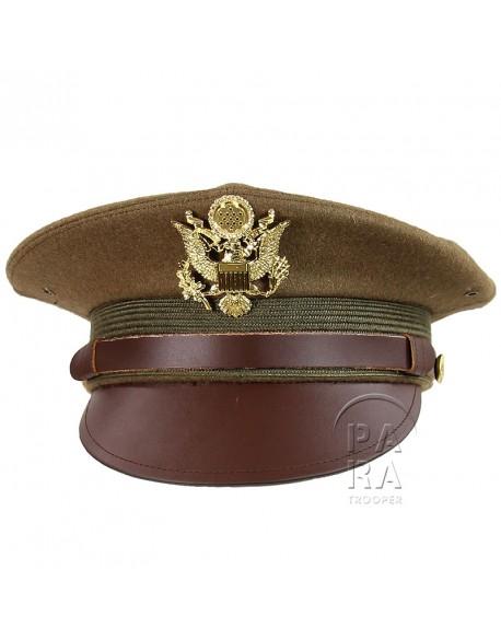 Casquette officier américain
