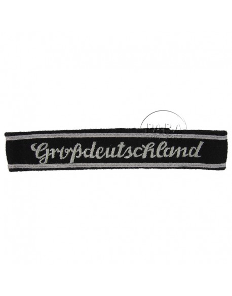 Bande de bras Grossdeutschland, brodée, troupe