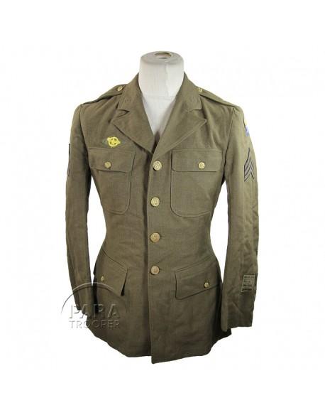 Coat, Wool, Serge, OD, Air Force
