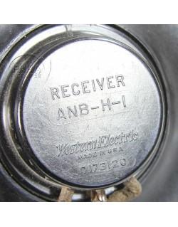 Bonnet de pilote fourré, AN-H-16, 1944