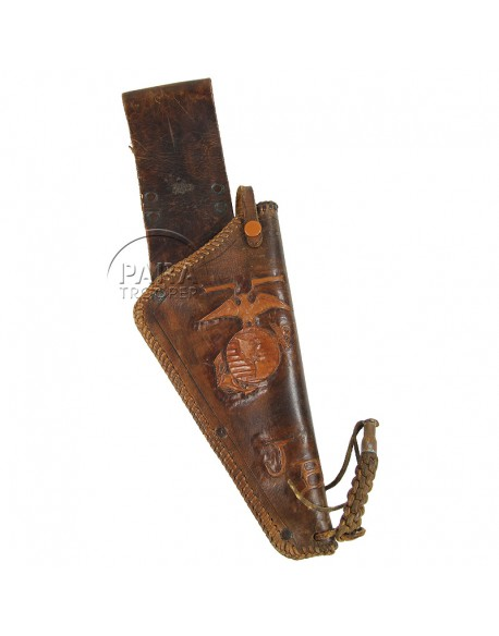 Holster, leather, USMC