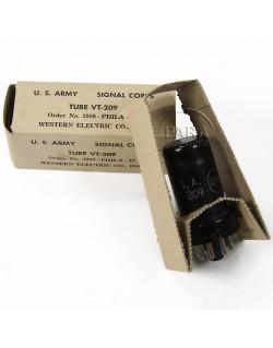Lampe VT-209 pour émetteurs radio, 1942