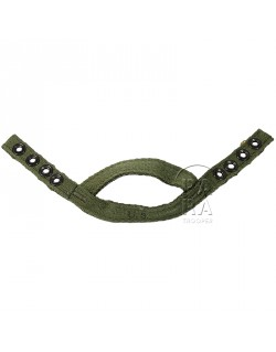 Chin cup, canvas, OD, for airborne liner.