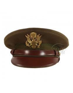 Casquette officier, US Army