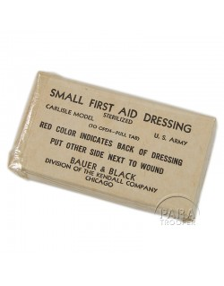 First-aid dressing, Small, US Army