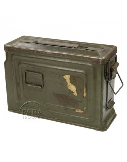 Case, Tin, Ammunition, Cal .30, Canco