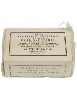 First-aid dressing, Large, Convenience, US Army