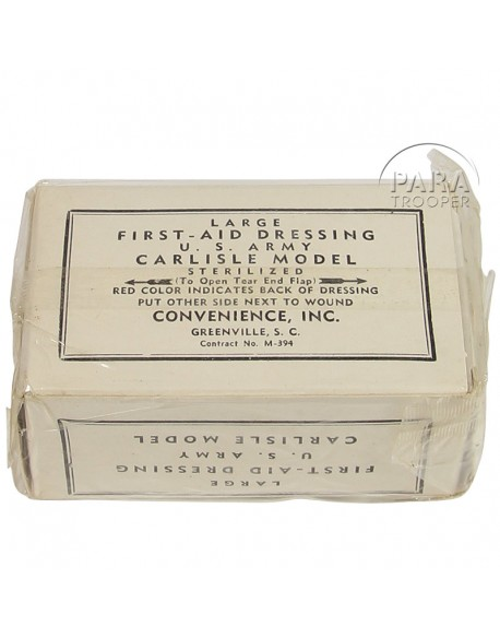 Pansement Convenience, US Army