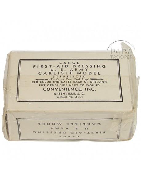 Pansement Convenience, US Army