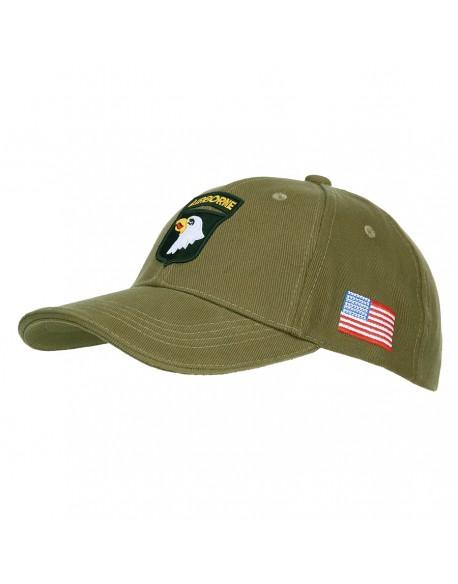 Cap, Baseball, 101st Airborne, green