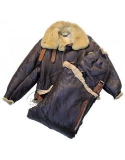 Set, Jacket & pants, Flying, Winter, Type B-3 A3, 42R, 1942-1943