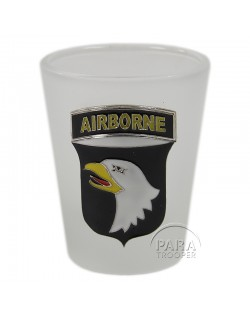 Shot glass, Frost, 101st Airborne