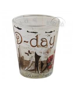 Verre à liqueur Vintage D-Day