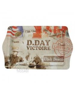 Plateau, métal, D-Day Victoire