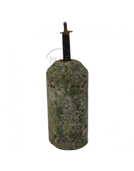 Mine antipersonnel type Stockmine, béton, allemande