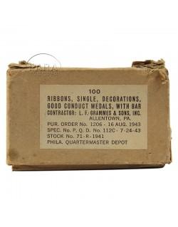 Ruban de décoration, Good Conduct, 1943