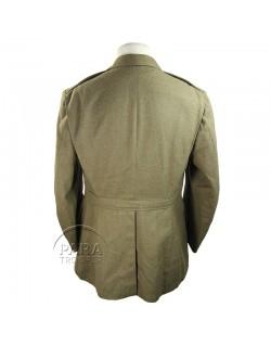 Coat, Wool, Serge, OD, 42R, 1940