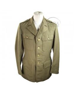Coat, Wool, Serge, OD, 40 XL