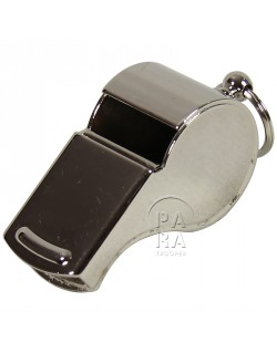 US ArmyWhistle, Brass, nickel plated