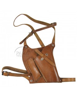 Holster, Pistol, M-7, hand made, named