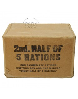 Cardbox, ration 10 in 1