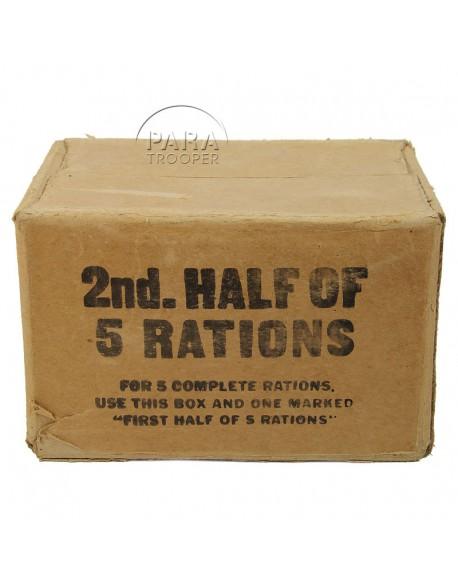 Cardbox, ration 10 in 1