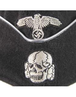 Cap, Field, elite Officer, Panzer, black