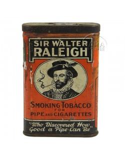 Box, American Tobacco, Sir Walter Raleigh