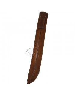 Machete, US, leather scabbard, Signal Corps