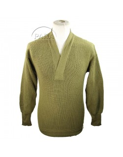 Sweater, V neck, Wool, 1942