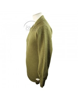 Sweater, V neck, Wool, 1942