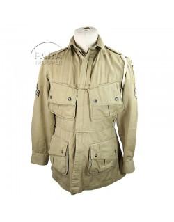 Jacket, Parachutist, M-1942, Reinforced, 101st AB. Div.